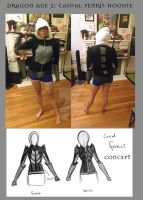 Casual Fenris Hoodie by coolbyproxy
