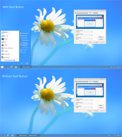 Windows 8 RTM Theme for XP by nasrodj