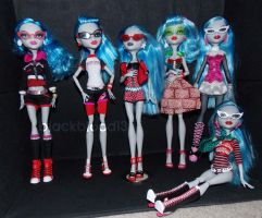 My Ghoulia's 2 by blackblood13