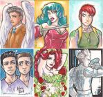 ACEO - Poison Ivy - Tron - ETC by dauntingfire
