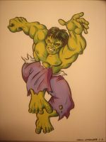 Incredible Hulk by GregLakowske