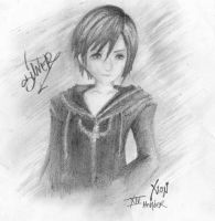 xion kingdom hearts by Darqueen