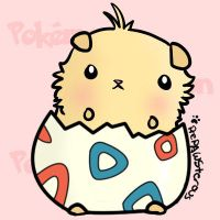 Togepi Hamster adoptable [CLOSED] by Azukii-chan
