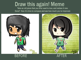 Draw This Again Meme #2 by lixuei