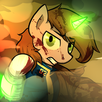 #Hellmare (Littlepip Icon Post Arbu) by sitrirokoia