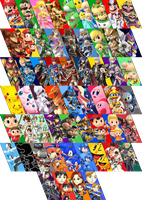 Super Smash Bros. For Wii U/3DS Full Roster by Hiratalg
