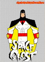 space ghost cartoon style by bolsitamarsupial
