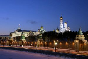 Moscow Kremlin 01 by Sarumian3000