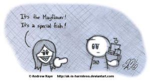 Mayflower by AK-Is-Harmless
