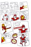 iron man: MAN OF IRON pg3 by MANeatingCLOTHES
