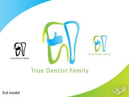 true dentist logo 2 by moslem-d