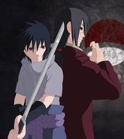 Uchiha Brothers by Cclaire110