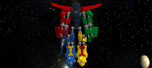 VOLTRON! DEFNDER OF THE UNIVERSE! by IgnikaMarcus
