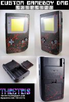 Black and Bloody gameboy by Thretris