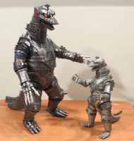 MechaGodzilla's Mini Me by Legrandzilla
