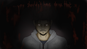 You shouldn't have done that. by Altair01
