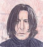Severus Snape by LoonaLucy
