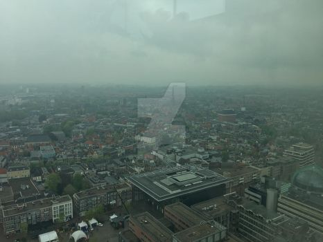 Another skyscaper view from Leeuwarden :) by stellaantoine
