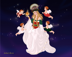 Goddess Maker: Perchta by Saphari