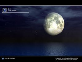 Moonlight Logon by christoph