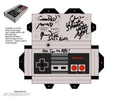 Nes Controller, Minibosses Ver by cubeecraft