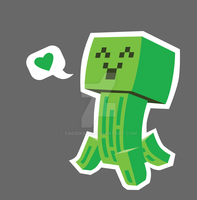 Creeper Loves You by sadiekate