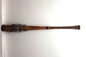 Barb-Wire Baseball Bat Stock by GloomWriter