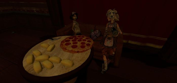 Girl's Night at the Inventory by afrokingj