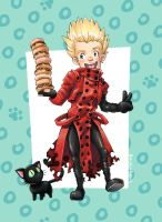 trigun :: donuts for all! by rockinrobin