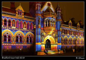 Bradford Town Hall 01 by richardldixon