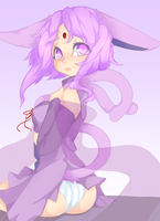 espeon Commission by punipaws