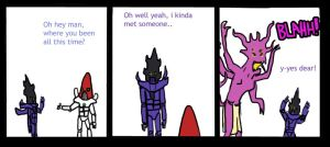40K: Who wears the pants. by AtomicWarpin