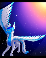 [C] Angel Among The Heavens (+FIXED SPEEDPAINT!) by i-Drag0n