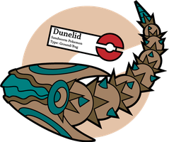 Fake Pokemon: Dunelid by Sageroot