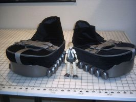Costume piece - Roxas shoes by rogueymu