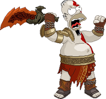 Homero kratos by Real-Warner