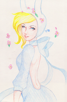 Fionna the Human by redgreave