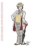 Sylvester McCoy: The Seventh Doctor by Inspector97