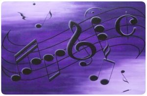 Music Notes by Lissa-B