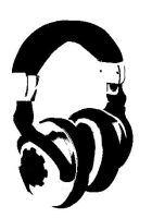 Head Phones Stencil by SaintKareshi
