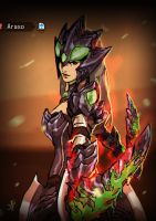 Brachydios (female blademaster) by mohammadyazid
