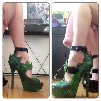 Poison Ivy Revamp Shoes 5 by PcCosplays