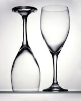 Two Glasses by Fran-schwing