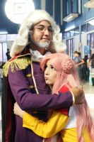 Euphemia and Charles Britannia Cosplay Code Geass by SailorMappy