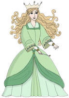 The beautiful Enchantress -- Disney Collab by Luisana2012