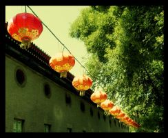 String of Lanterns by ShanghaiBoo