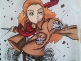Attack on The Boondocks: Jazmine by Millie-Rose13