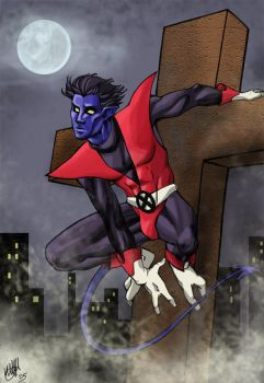 nightcrawler by kumitawapa