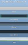 GNOME Panel Theme Pack by half-left