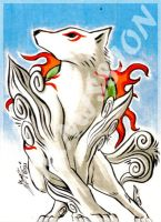 Bonus Commission: Amaterasu by eisu